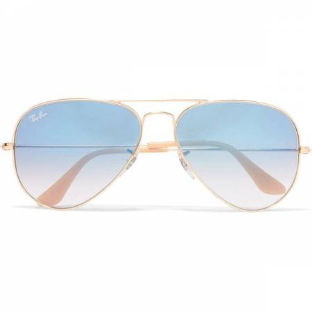 16e9807a2af Ray-Ban Aviator Gold Blue Sunglasses - Guerin s Pharmacy